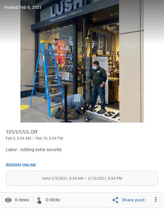 Locksmith SEO Guide GMB Posting Photo